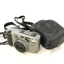 Minolta Freedom Zoom 140EX 35mm Film Camera Vintage With Leather Case And Strap