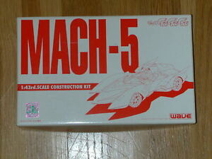 Speed Racer Mach Five 1/43 scale resin model kit (Wave) Mach Go Go Go