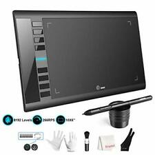 UGEE M708 Graphics Tablet, 10 x 6 Inch Large Drawing Tablet, 8192 Levels