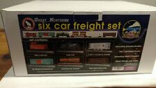 MTH #20-90006 Great Northern O Gauge 6-Car Freight Set. NIOB. 1999. Unused. NOS.