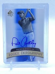 2014 SP Authentic Patrick Cantlay Rookie Chirography Auto 27/50 PGA Tour Champ