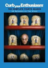 CURB YOUR ENTHUSIASM - SEASON 4 - DVD - REGION 2 UK