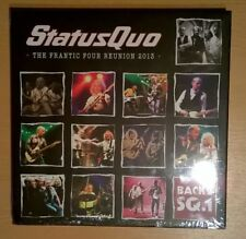 STATUS QUO The Frantic Four Reunion 2013 (3CD+2DVD+Bluray+Book) Sealed/neuf
