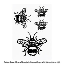 'Fuzzy Bee' Temporary Tattoos (TO024559)