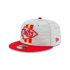 2021 Kansas City Chiefs New Era 9FIFTY Snapback NFL Training Camp Cap Hat 950