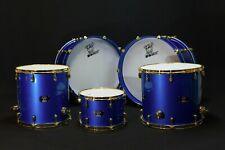 BONE Custom Drums, Maple Blue Pearl kit