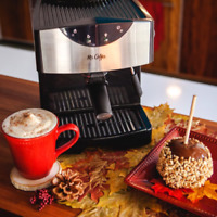 Mr. Coffee Pump 1250W Espresso Maker - Black