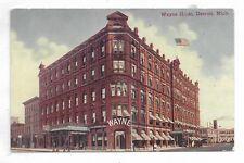 DETROIT MICHIGAN Wayne Hotel