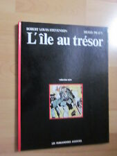 HUGO PRATT / R.L. STEVENSON ..L'ILE AU TRESOR + DAVID BALFOUR ..E.O. 1980