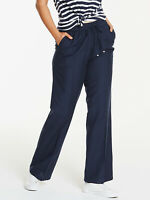 Anthology Ladies Women Linen Blend Easy Care Trousers Size 16 to 32 LTApr15-1
