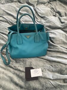 Authentic Prada leather bag shoulder strap and auth card over 3k !!!