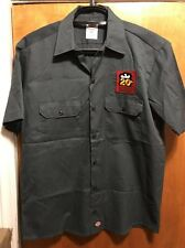 PORTSMOUTH BREWERY NH ~ Mens MED 20th YR Kate the GREAT Beer Delivery Work Shirt