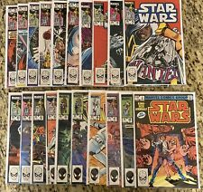 1977 Original STAR WARS Lot 70-88 and Annual #2 | Average Condition NM+