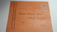 Carte Union Syndicats Agricoles Aisne 1945 - De Laon à Crézancy - Sur YT 652