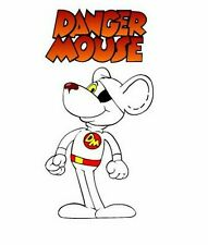 Danger Mouse Sticker Vinyl Decal 4-352