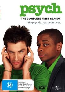 Psych : Season 1 : 4 Disc : NEW DVD :