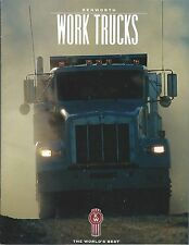 Truck Brochure - Kenworth - Work - Dump Logging Mixer Lowboy - c1999 (T2083)