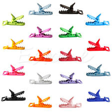 10pcs Plastic Suspender Soother Pacifier Toy Bib Holder Nipples Dummy Clips
