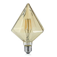 Trio Leuchten 901-479 LED Vintage Filament E27 4W braun Kegel Warmweiß 2700K