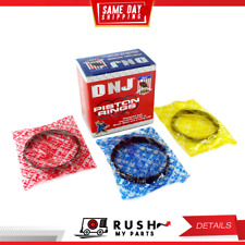 DNJ PR705 Standard Piston Ring Set For 87-94 Subaru Justy 1.2L L3 SOHC 9v