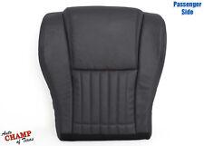 00-02 Pontiac Firebird Trans Am -Passenger Side Bottom Leather Seat Cover Black