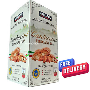 1Kg Almond Biscotti Cantuccini Toscani IGP Italy Biscuit Box