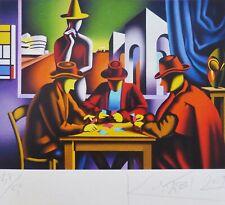 "Mark Kostabi "" The Art de Revendeurs "" 37/50 Main Signée Urban US Artiste"
