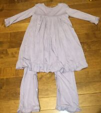 Kickee Pants Toddler Girl Lilac Dress Romper 18-24 Months New