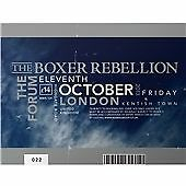 THE BOXER REBELLION LIVE AT THE FORUM CD NEW SEALED FREE UK POST