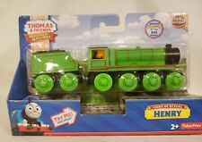 Thomas Wooden Railway Light Up Reveal Henry Rare New In Box!