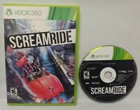 SCREAMRIDE Game - Microsoft Xbox 360 Rare Tested Works SCREAM RIDE