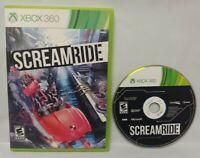SCREAMRIDE Game - Microsoft Xbox 360 Rare Tested Works SCREAM RIDE