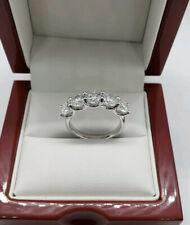 5 Stone Moissanite 3.00 Carat Ring VVS1 E-F size 6