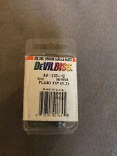 Devilbiss Fluid Tip 1.2 Av-213-12  New In Container