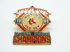 BOSTON RED SOX  PIN  1988 EASTERN DIVISION CHAMPS  AMERICAN LEAGUE  GREAT GIFT