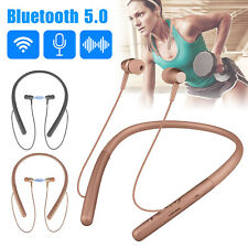 Wireless Headsets Earphones Bluetooth Neckband Headphones In-Ear for iOs Android
