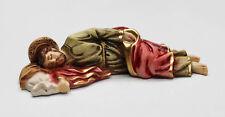 """Sleeping St. Joseph Statue it is 4.7"""" inches Sleeping Saint Joseph Ston Dust"""