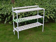 Brand New Gardening Hydroponic Grow System Vegetable Garden PVC Gully Set Up Kit
