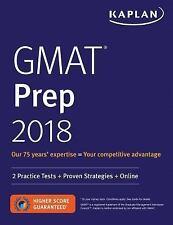 GMAT Prep 2018: 2 Practice Tests + Proven Strategies + Online (Kaplan Test Prep)
