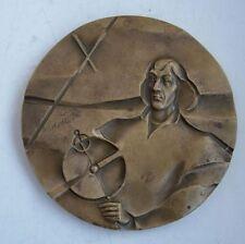 POLISH POLAND ASTRONOMY  COPERNICUS MATHEMATICIAN PRIEST Frombork CITY medal