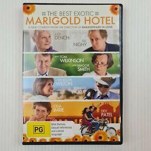 The Best Exotic Marigold Hotel DVD - Judi Dench, Dev Patel - R4 - TRACKED POST