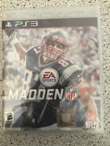 🏈🏈Brand New!!! Madden NFL 17 (PS3, 2016) Factory Sealed!!!🏈🏈