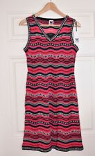 M MISSONI Designer Dress Stars Stripes Sleeveless Knit EU42 UK10 BNWT NEW
