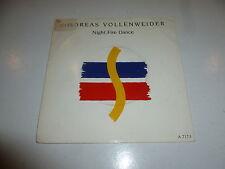 "ANDREAS VOLLENWEIDER - Night Fire Dance - 1986 UK 2-track 7"" Vinyl Single"