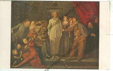 ITALIAN COMEDIANS-BY WATTEAU-NATIONAL GALLERY OF ART--(JESTER-29)
