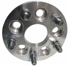 """5x100 to 5x4.5 / 5x114.3 USA Made Wheel Adapters 1"""" Thick 12x1.5 Studs x2 Spacer"""