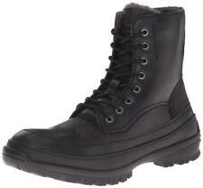 Kenneth Cole Unlisted Men's Imag-Nation Combat Boot Black Size-9.5M US