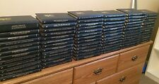 A Set of 76 Leatherette Agatha Christie Mysteries published by Bantam Books