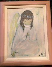 "Ted DeGrazia Print, ""A Little Prayer"" Beautifully Framed,"