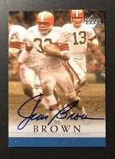 RARE! 2000 UD Upper Deck NFL Legends Football Autograph AUTO SSP Jim Brown #JB